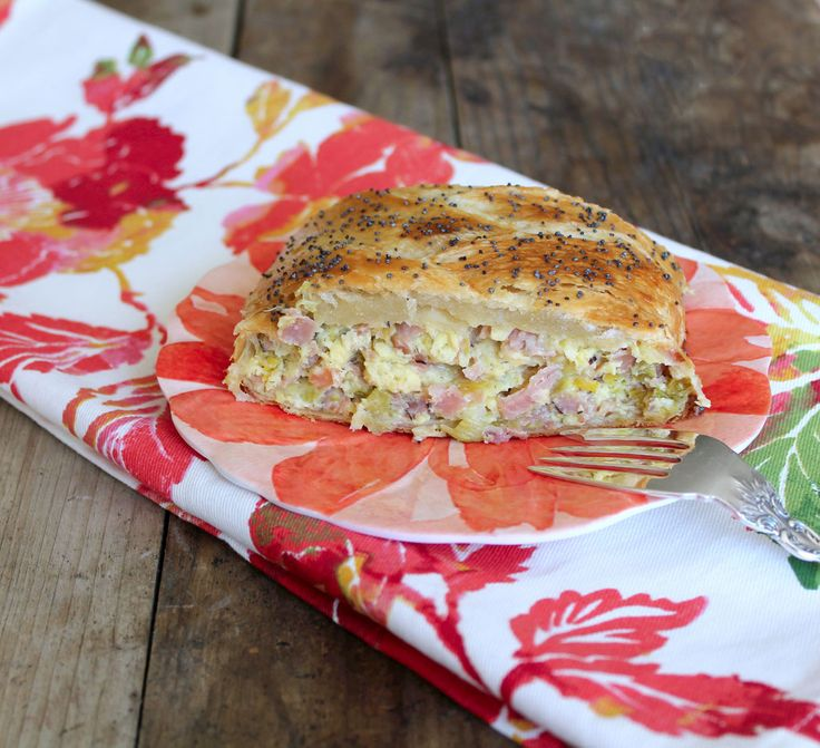 Ham and Leek Breakfast Braid for Mother's Day Brunch. www ...