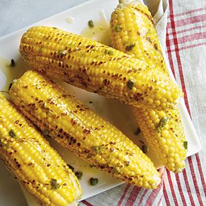 ... Grilled Corn on the Cob with Roasted Jalapeño Butter | CookingLight