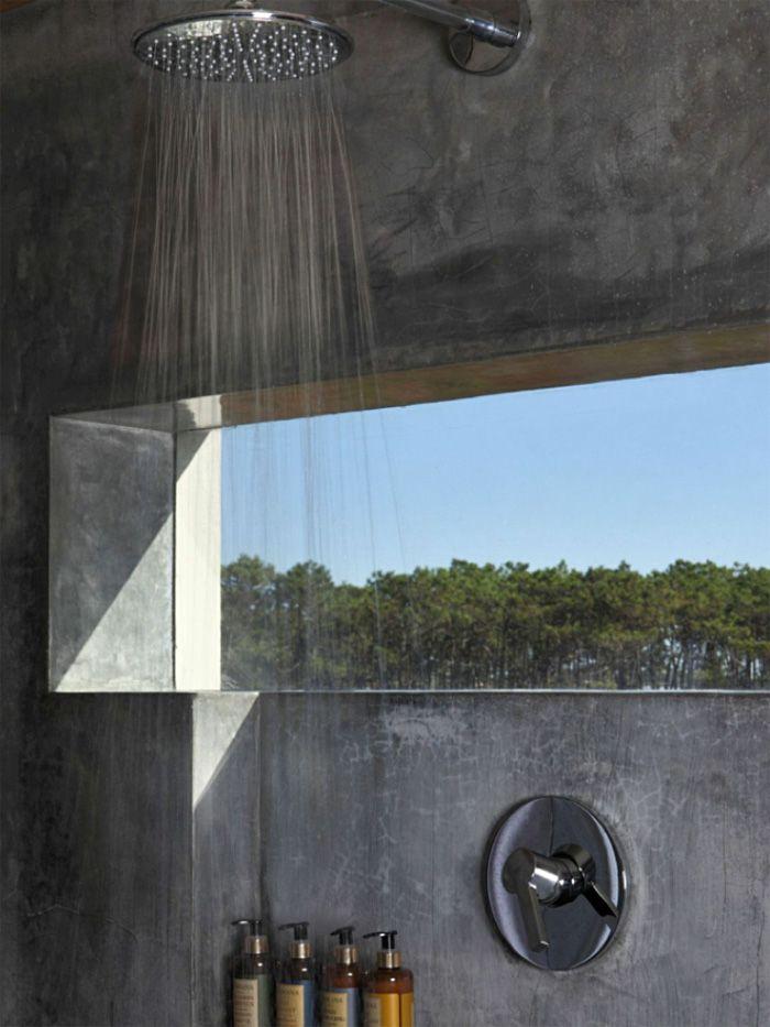 Encimeras De Baño De Microcemento:Revestimiento de baños con microcemento