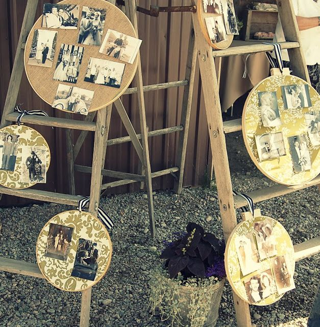 Displayed In This Embroidery Hoop Is A Fantastic: Fabric Embroidery Hoop To Display Photos