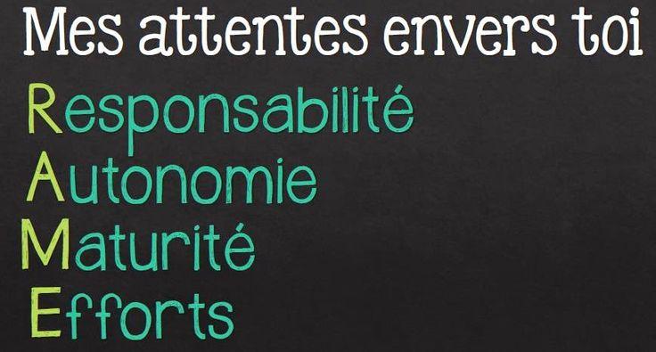 Préparer la rentrée scolaire http://laclassedekarine.blogspot.ca/