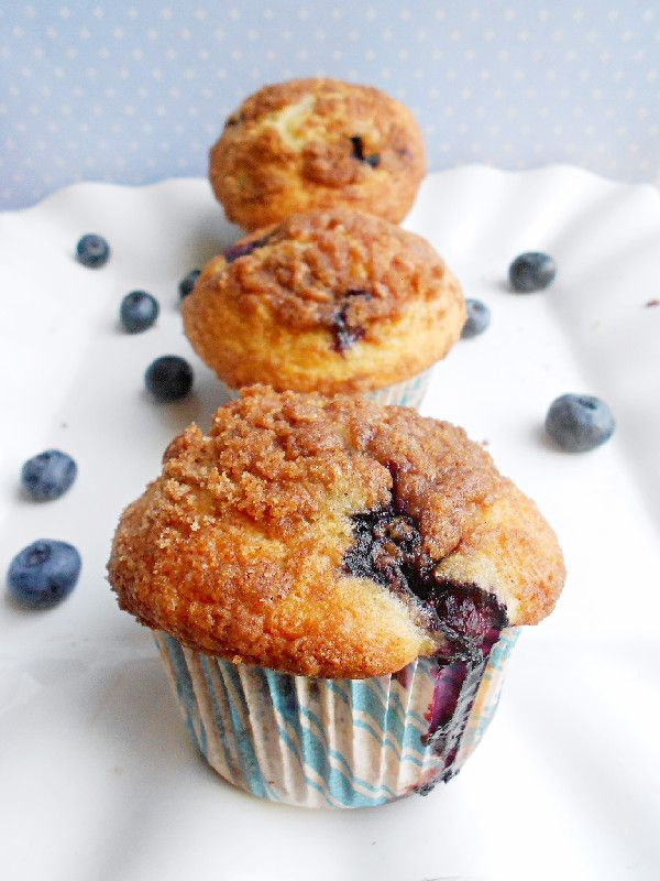 To Die For Blueberry Muffins | Chef Whitney | Pinterest
