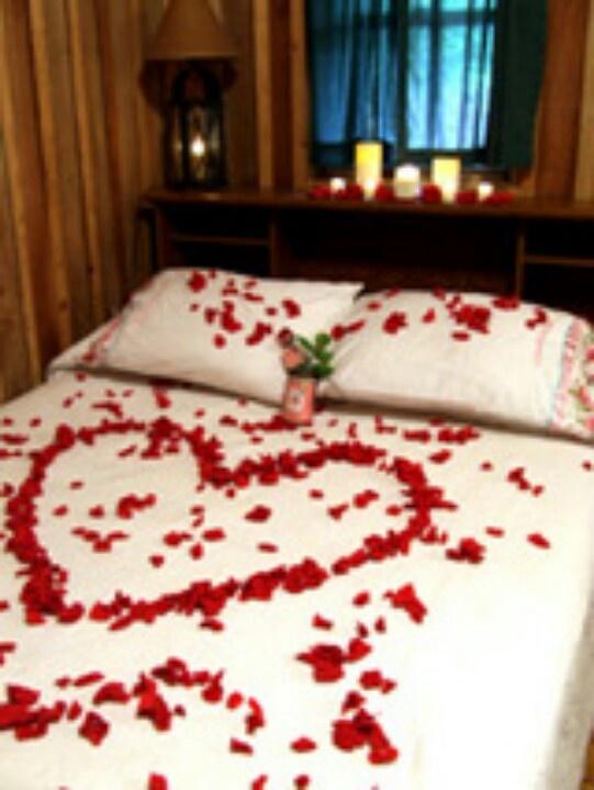 Romantische schlafzimmer