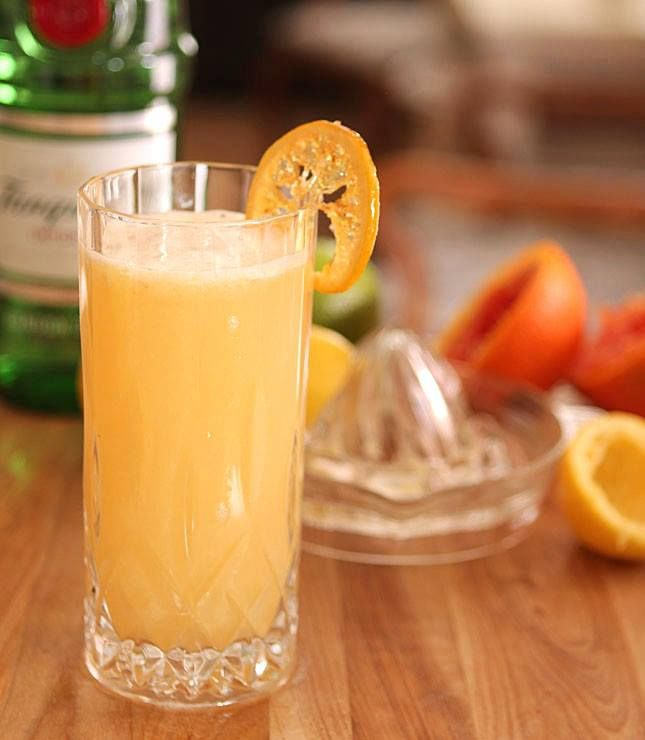 Sweet Citrus Fizz Recipe | Recipes - Drinks | Pinterest