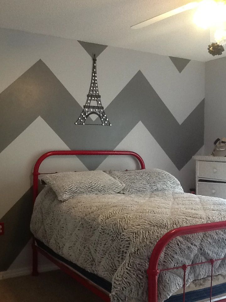 chevron bedroom my style pinterest