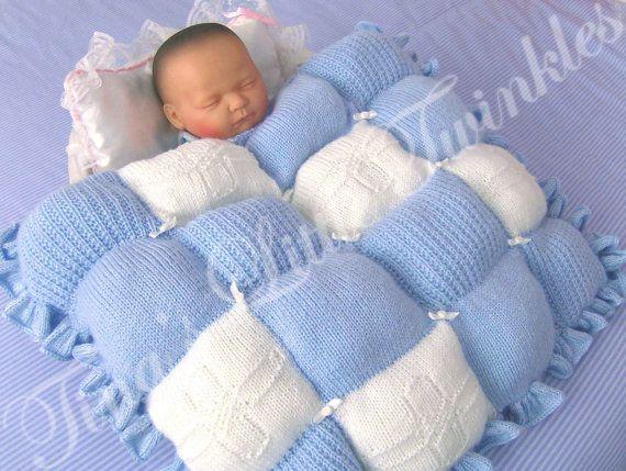 Reborn Baby Knitting Patterns : Baby Blue Skies Knitting Pattern~Baby/Reborn