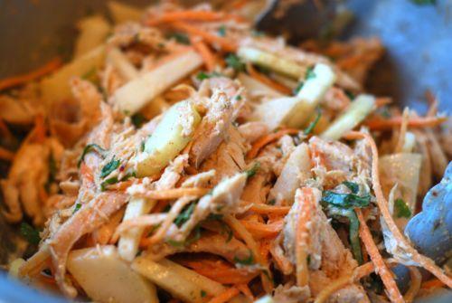 Asian Almond Chicken Salad | Dinner | Pinterest