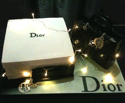 Christian Dior Birthday Cake Image Inspiration of Cake and