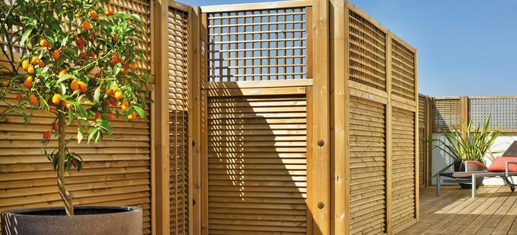 Celos as de exterior para terrazas y jardines en www - Jardines en terrazas ...