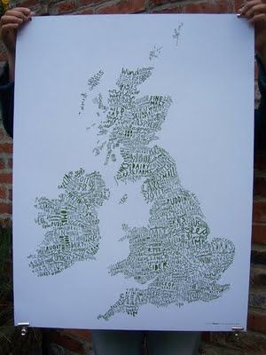 Alison Hardcastle: Introducing the Word Map of the British Isles