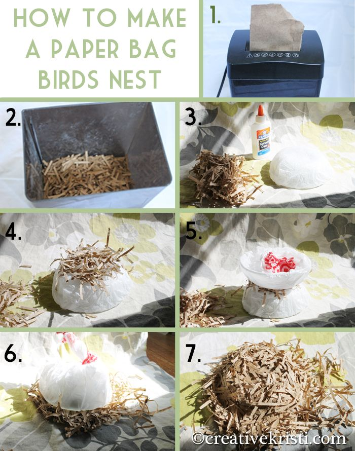 how to make taro dird nest