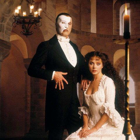 Sarah Brightman and Michael Crawford ~ Phantom Of The Opera