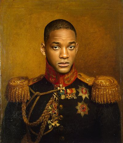 Will smith replaceface art print