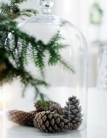Une cloche en verre - Noël express : 40 idées de dernière minute
