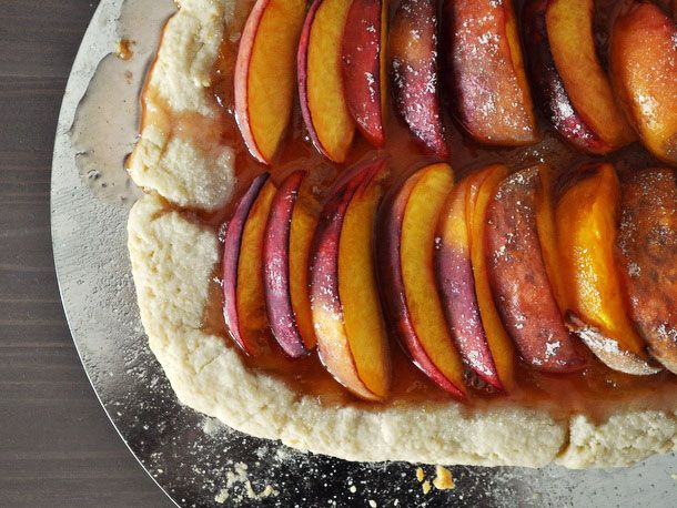 Rustic Apricot-Peach Crostata - boost it with a bit of Fat Cat hot ...