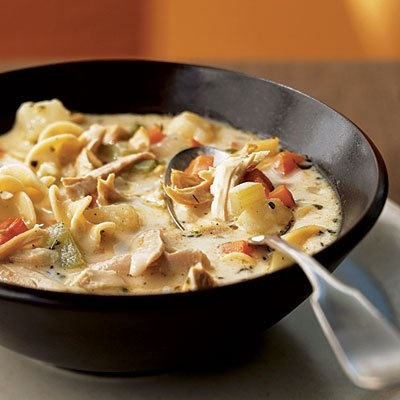 Roasted Chicken Noodle Soup | Yummy Foods | Pinterest