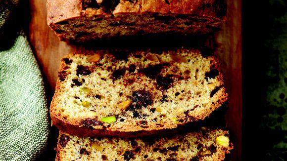 Chocolate Chip Pistachio Pound Cake   A chocolaty, nutty cake that's ...