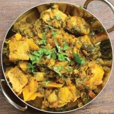 Saag Aloo (Indian Spinach and Potatoes) | Gluten-free and delicious ...
