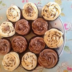 Chocolate and coffee cupcakes with Baileys® buttercream @ allrecipes ...