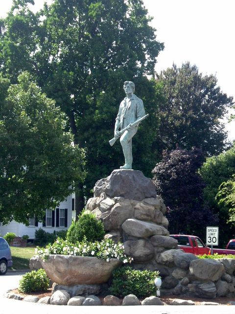 The Lexington Minuteman Statue, Lexington MA
