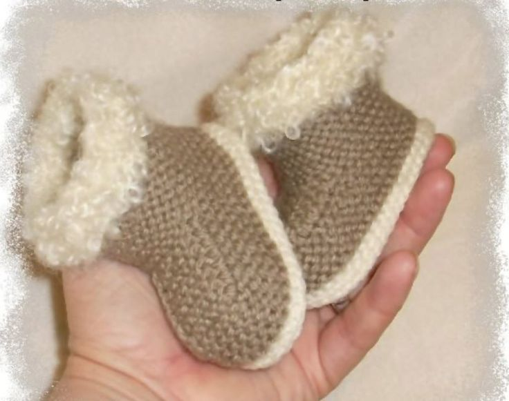 Free Knitting Patterns Baby Ugg Boots
