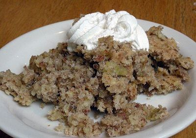 Huguenot Torte | Recipes to Try | Pinterest