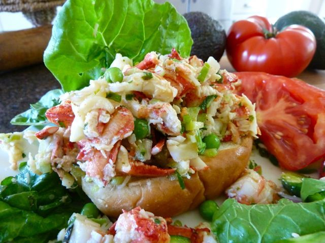 THE MAINE EVENT: SKINNY LOBSTER SALAD and LIGHT LOBSTER ROLLS | THE ...