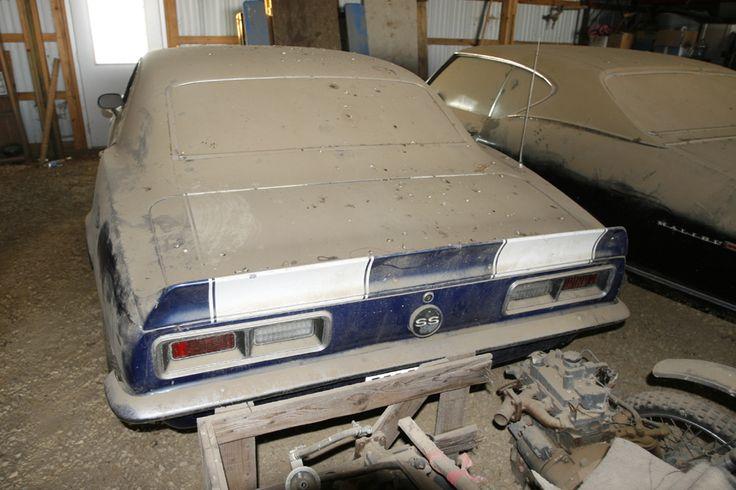 69 Camaros Found In Barns Autos Post