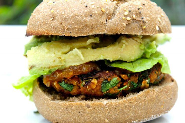 Sweet Potato Burger | Vegan/Vegetarian Burgers and Sandwiches | Pinte ...