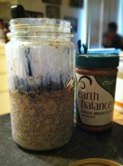Overnight Chia Oat Banana Pudding | Made Just Right by Earth Balance