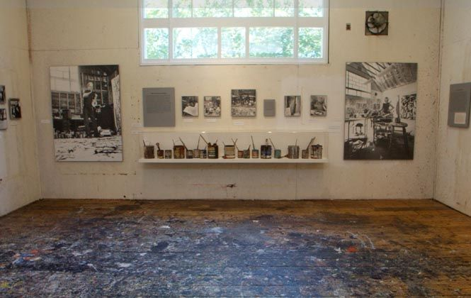 Pollock house and study center. Springs, NY