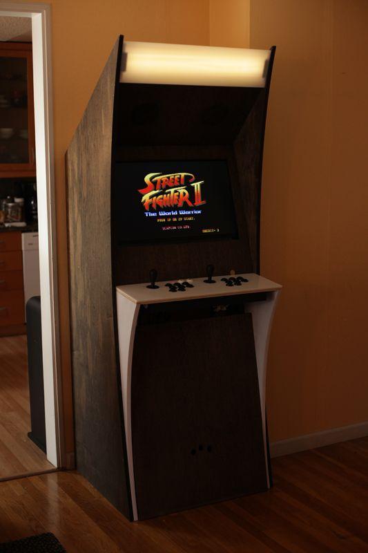 Custom Arcade Machine Diy And The Like Pinterest