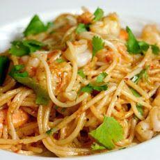 Paella Style Spaghetti with Shrimp | Pasta, Pizza, Noodles & Salad Re ...