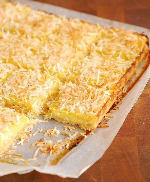 Lemon Coconut Slice – Gluten Dairy Free   Gluten Free Goodness   Pin ...