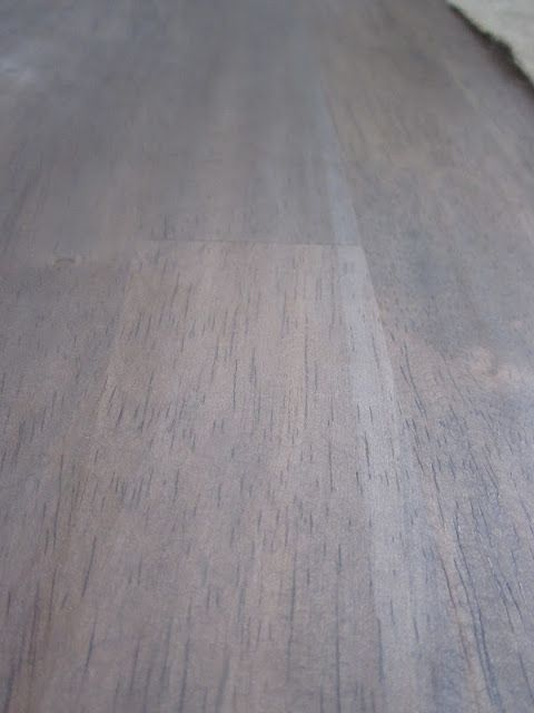 Grey Stained Pine Floors