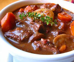 Slow Cooker Beef Soup with Red Wine | Soup,Stew,Gumbo,&Chili | Pinter ...