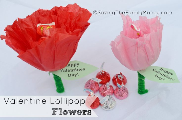 valentine lollipop bouquet