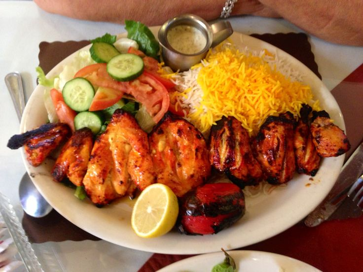 Persian chicken kabob. | Green | Pinterest