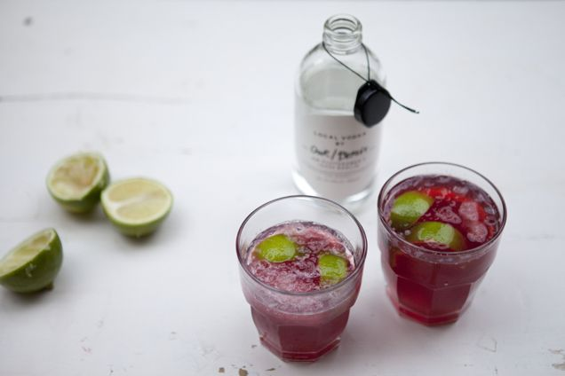 pomegranate cosmopolitan | Deliciousness | Pinterest