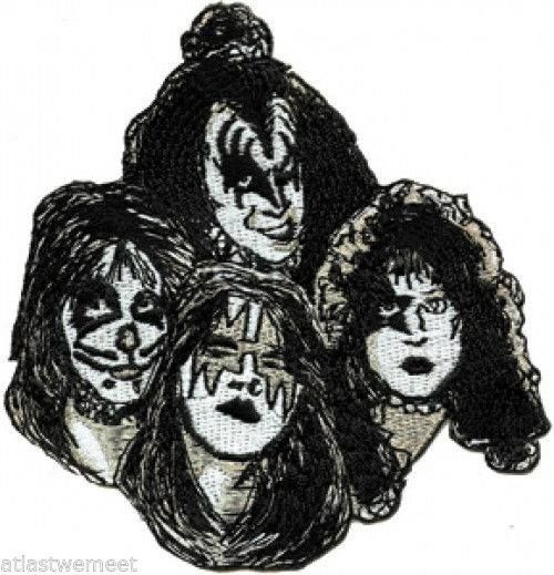 Kiss Band Faces: Pin By Jason Jones On KISS Army
