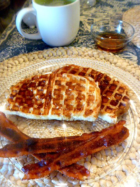 French Toast Waffles | Food | Pinterest