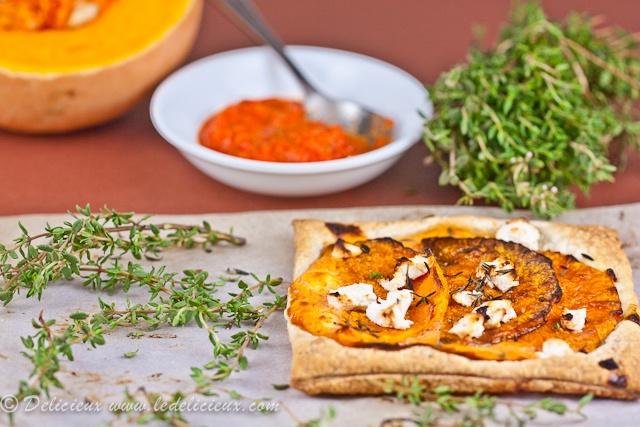 Spiced Pumpkin and Feta Tarts | Recipe