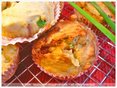 Bacon, Cheddar & Chive Muffins | Recipes to Make | Pinterest