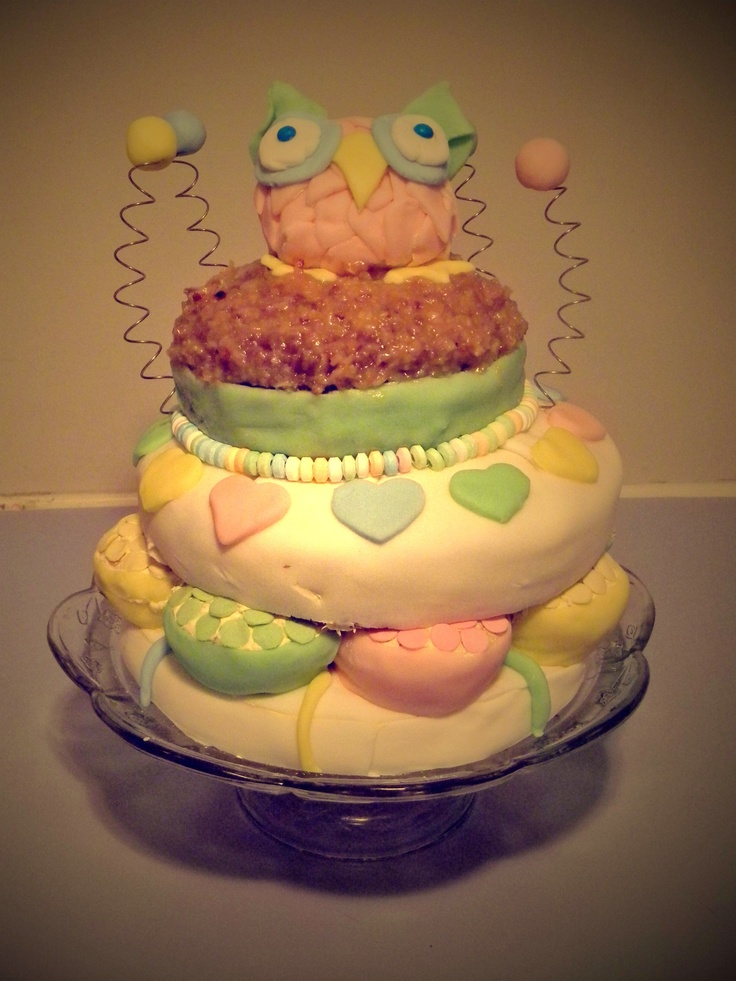 cake yellow birthday cake rainbow angel birthday cake birthday cake ...