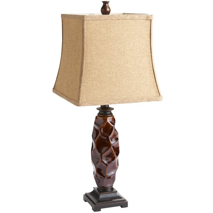 pier 1 amber table lamp lamps pinterest. Black Bedroom Furniture Sets. Home Design Ideas