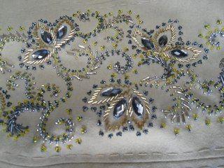 Люневильская вышивка на одежде 57