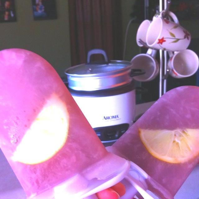 My Zoku popsicles!! | Ice lollies | Pinterest