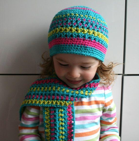 Free Knitting Pattern For A Scarf Hat : Crochet hat pattern FREE scarf pattern crochet hat and scarf pattern (75) inc...