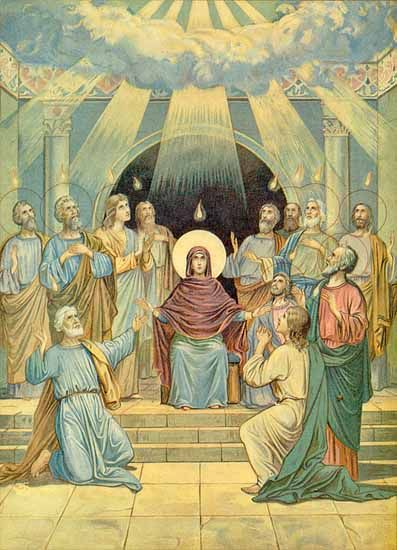 pentecost and catholic confirmation