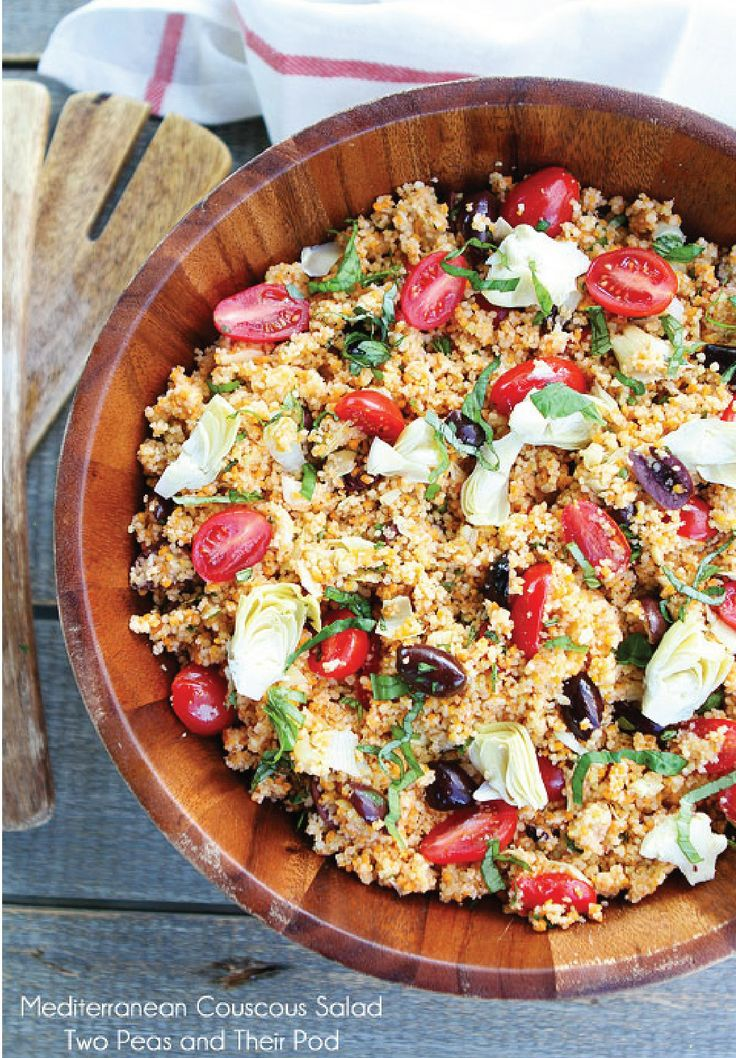 Mediterranean Couscous Salad | Recipe